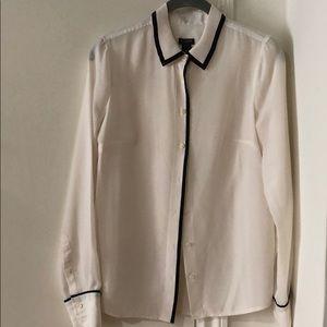 JCREW factory button down blouse XS